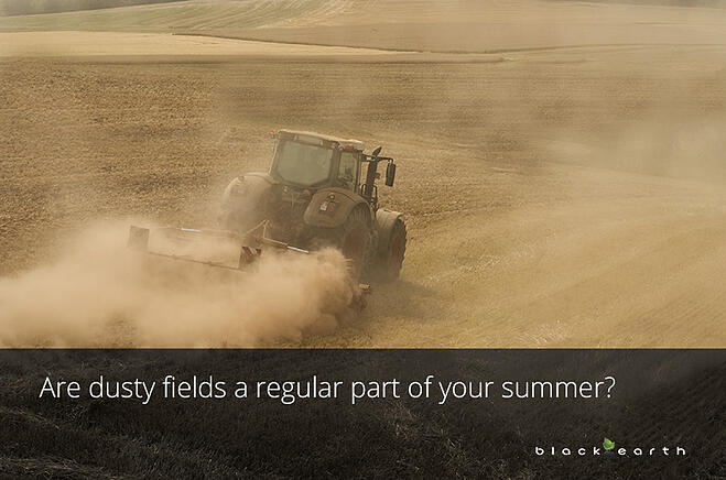 are dusty fields a regular part of your summer