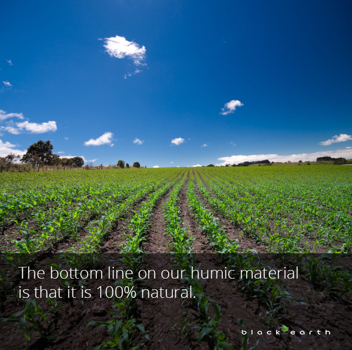 growers humid matter organic material row crop